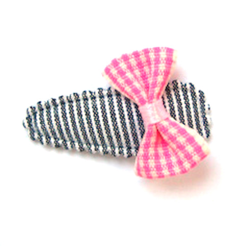 barrette noeud-papillon anti-glisse