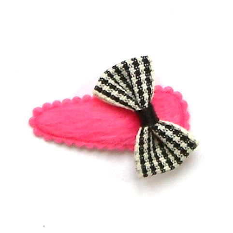 barrette noeud papillon pour bébé